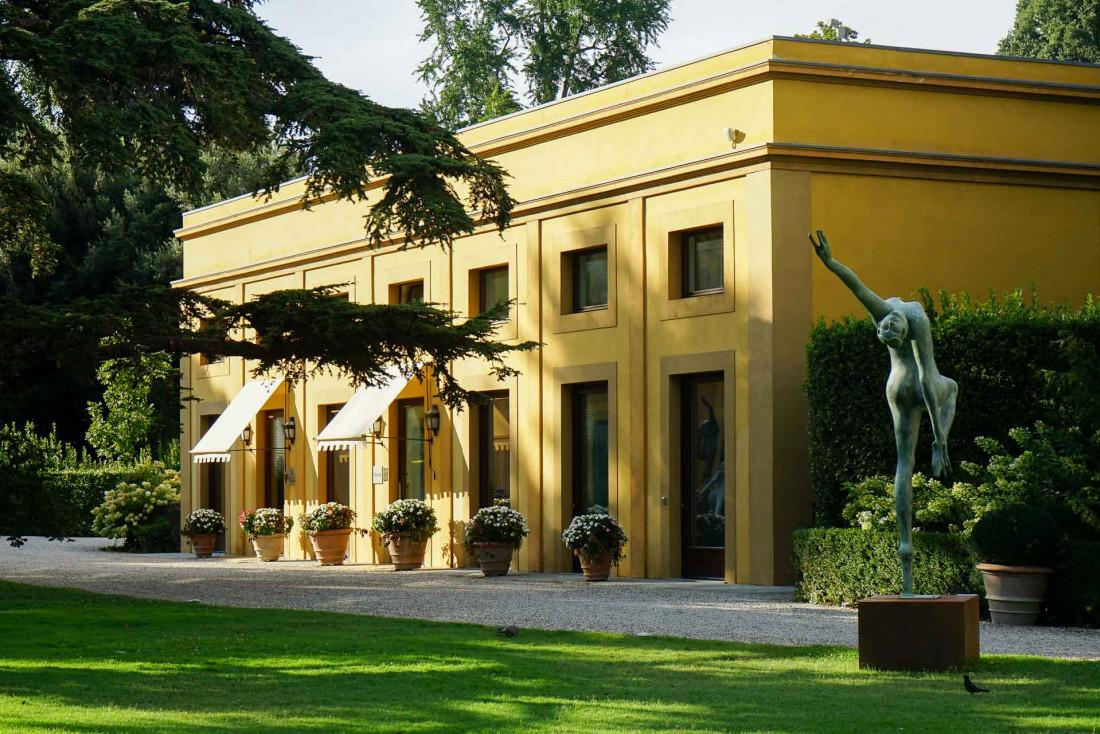 Four Seasons Hotel Firenze | Le spa situé dans le jardin de l'hôtel est le plus vaste de la ville © MB|YONDER.fr