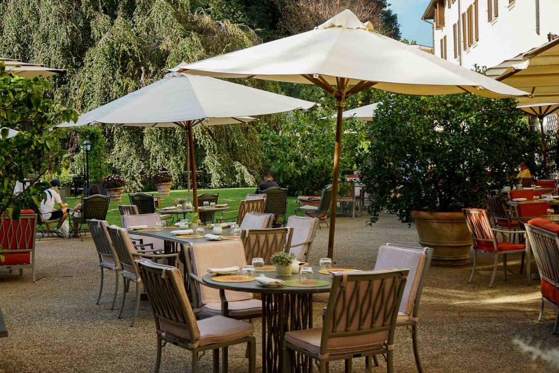 Four Seasons Hotel Firenze | Terrasse de circonstance aux beaux jours © MB|YONDER.fr
