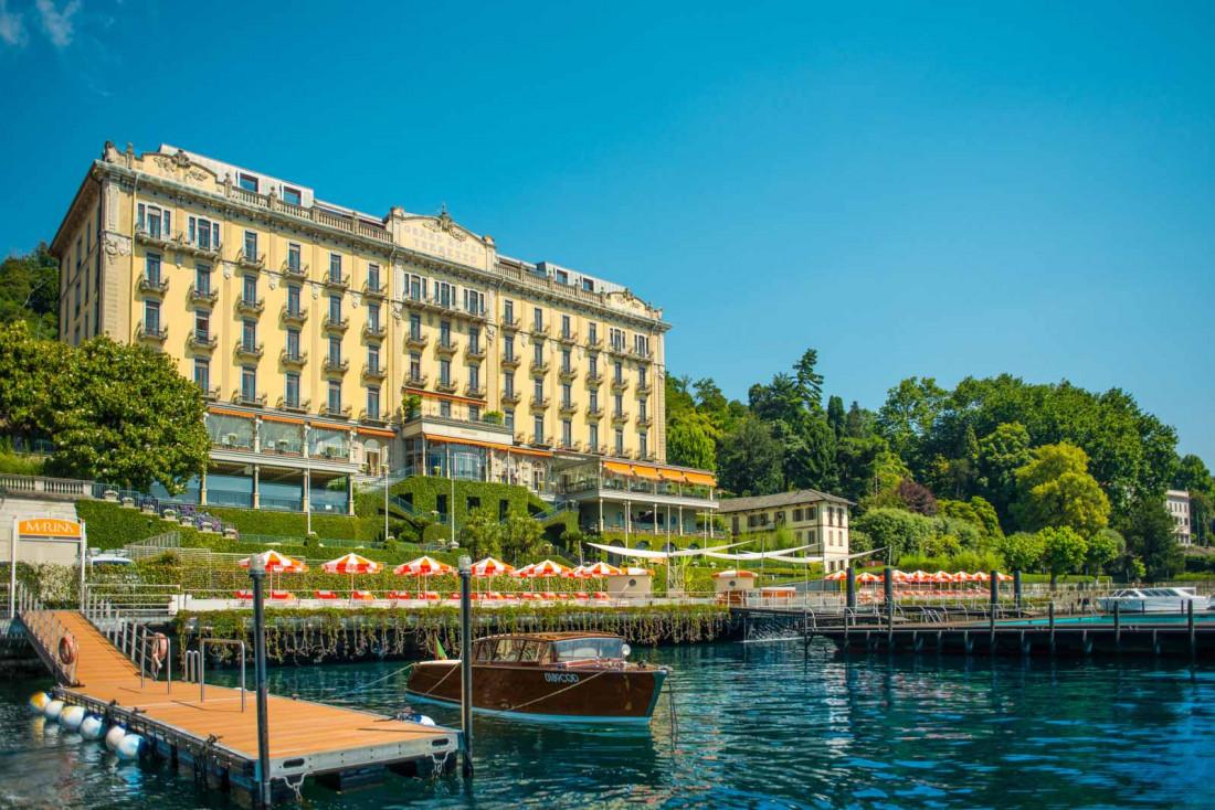 Le Grand Hotel Tremezzo, une institution sur les bords du lac de Côme © Grand Hotel Tremezzo