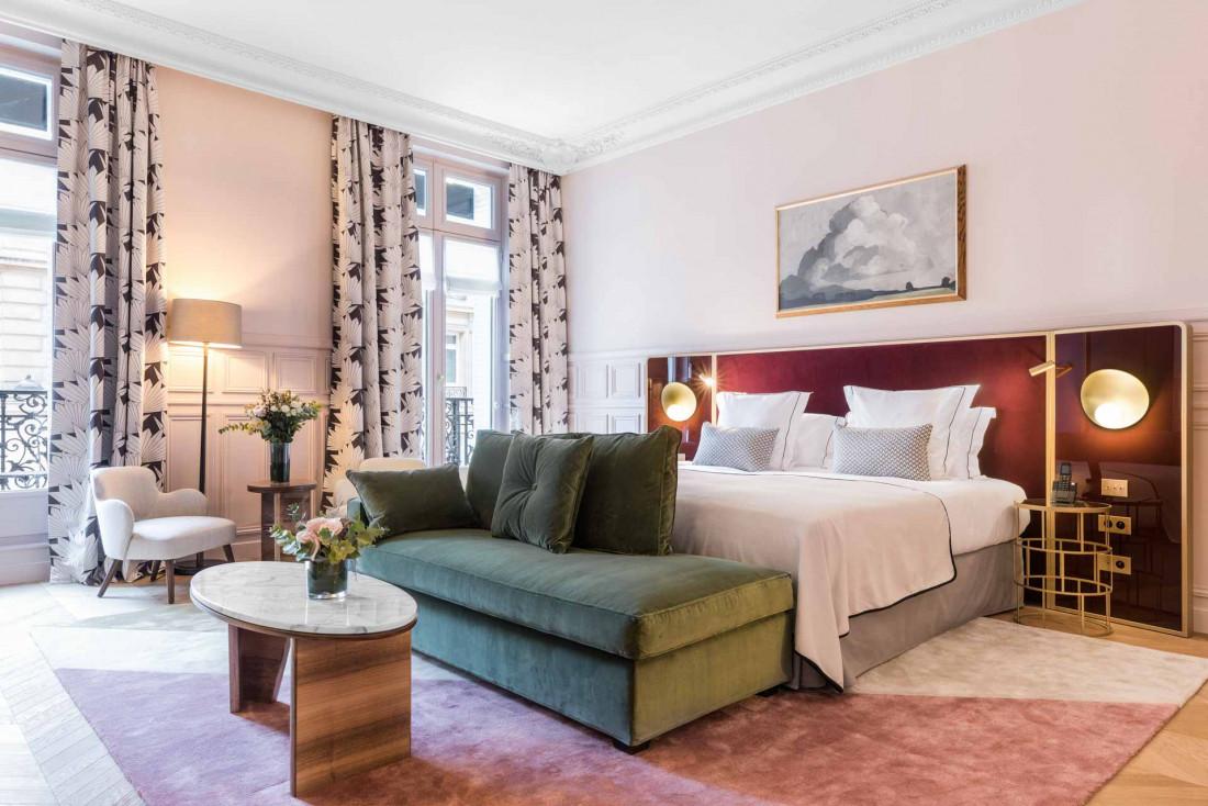 Suite Pink Prestige Junior à l'hôtel Grand Powers © DR