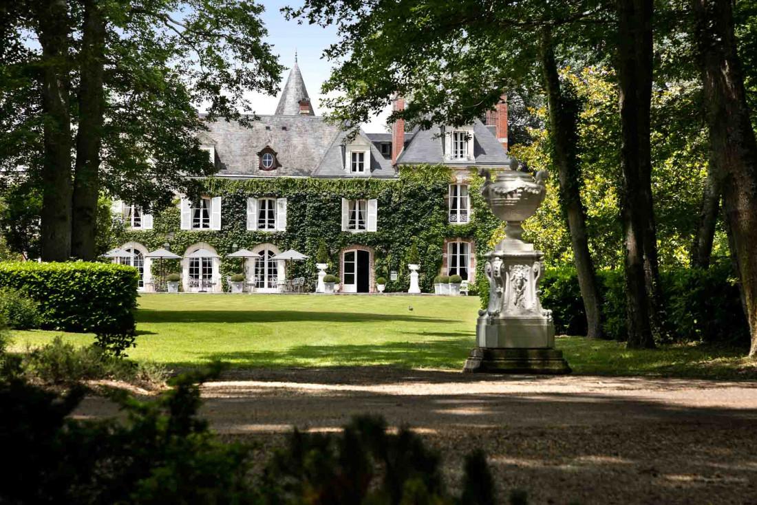 Un ancien pavillon de chasse érigé au XIXe siècle entouré d'un parc de 70 hectares © Fabrice Rambert