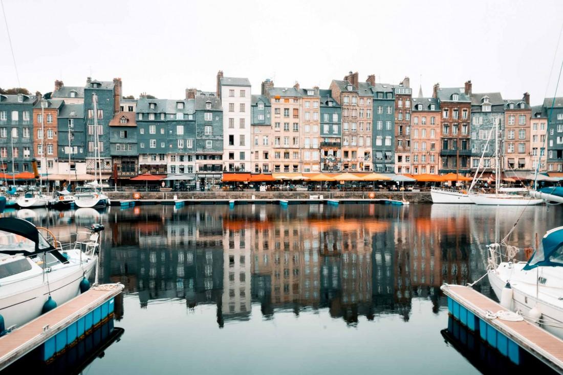 Le Vieux Bassin d'Honfleur © Max Well
