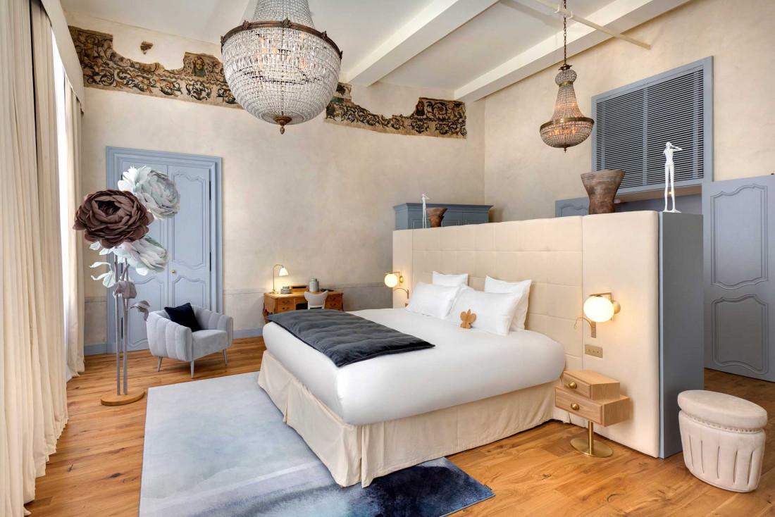 Les chambres de l'Hôtel Richer de Belleval, entre histoire et design © Agence Sweep Jérôme Mondière