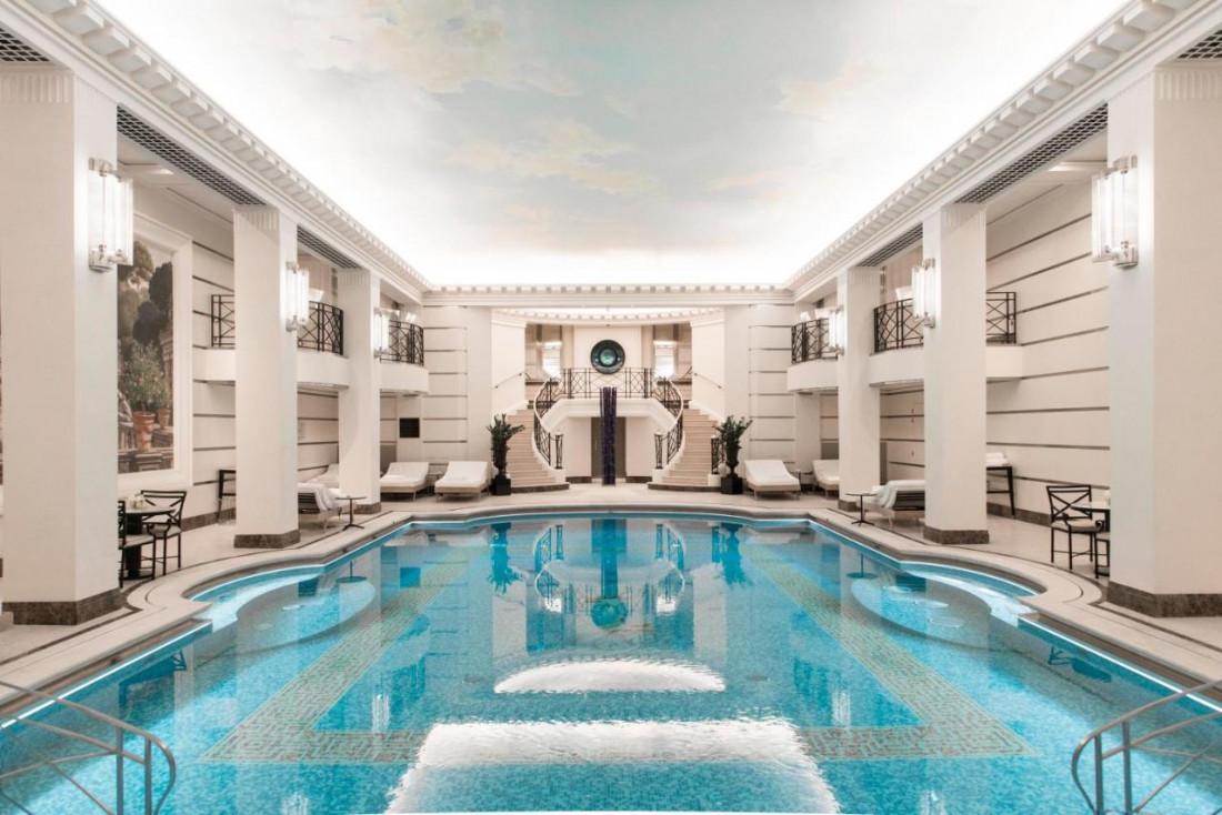 La piscine de l'hôtel Ritz © DR