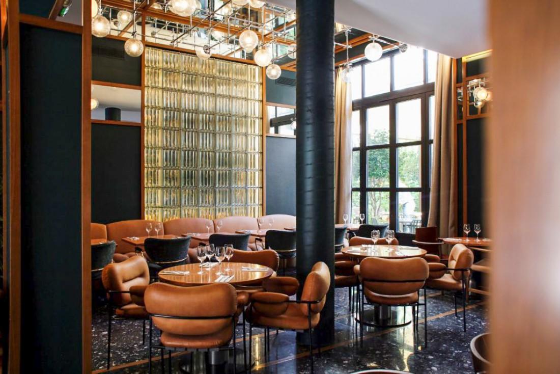 Restaurant de l'Hôtel Le Ballu dans le quartier de la Nouvelle Athènes © DR.