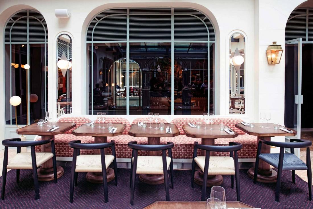Restaurant de l'Hôtel des Grands Boulevards © Karel Balas.