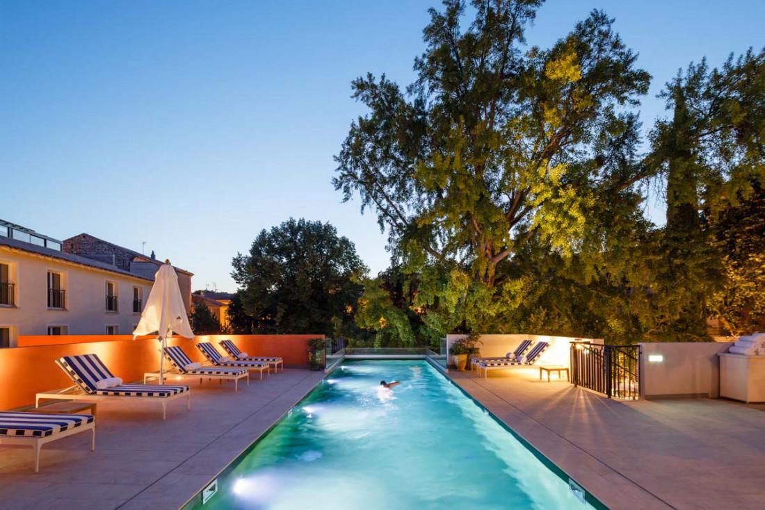 La piscine du Maison AlbarHotelsL'Imperator© Marcella Grassi