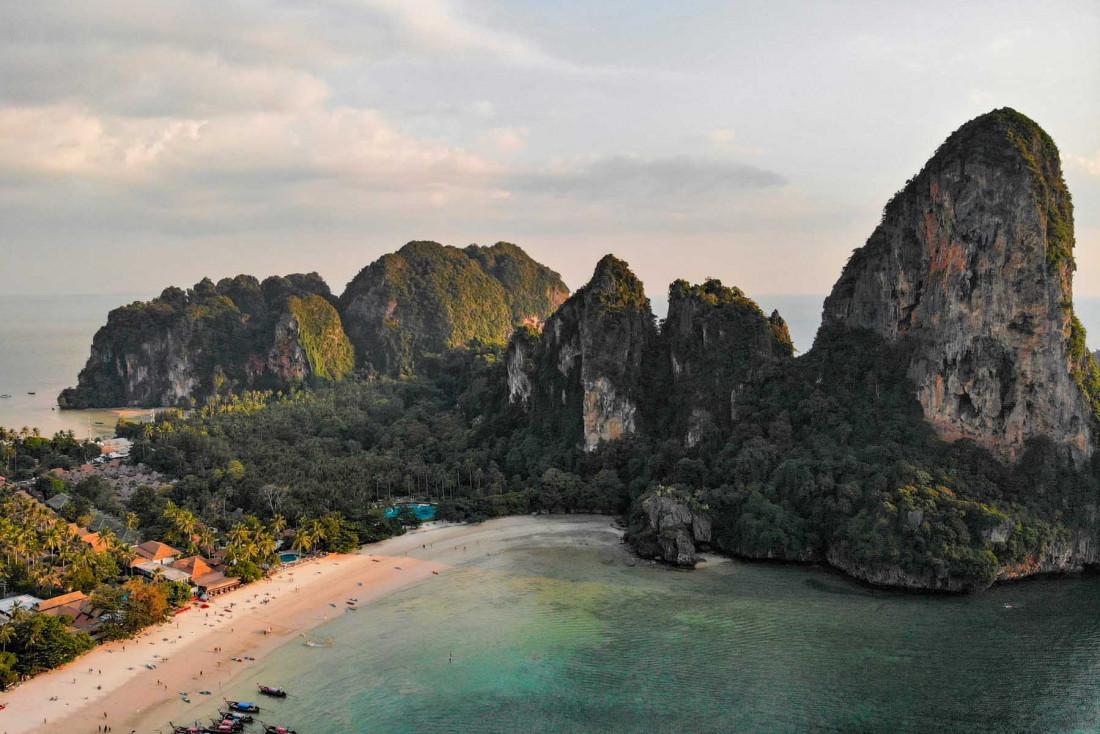 L'île de Krabi est le paradis pour des vacances tropicale pittoresques© Rachael Annabelle