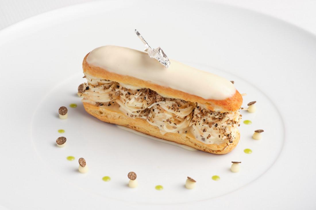 La cuisine d'Alain Montigny à L'Or Bleu © Julie Limont