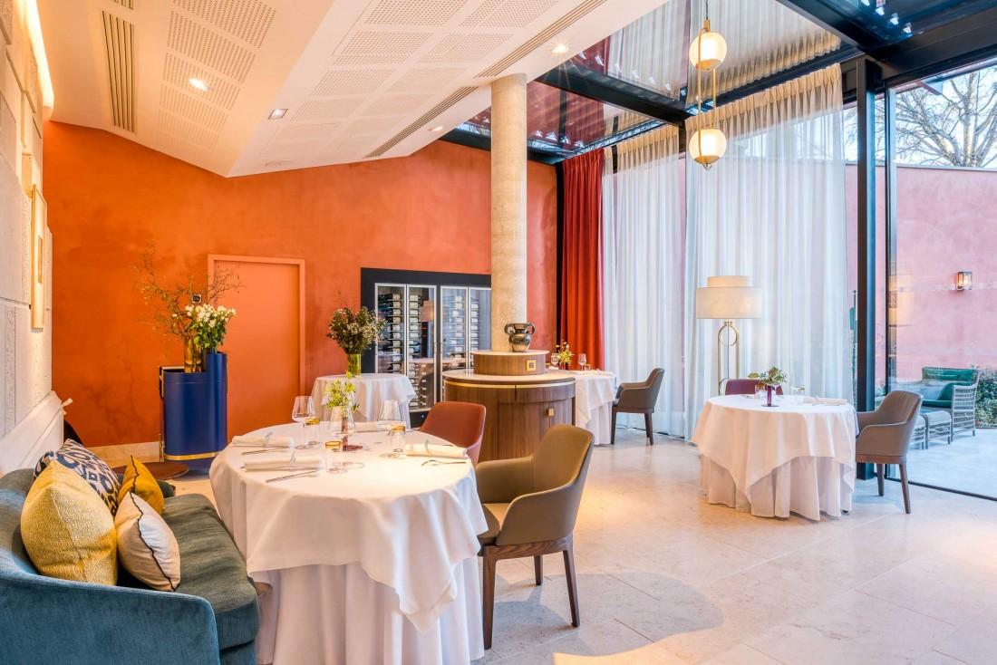 Le restaurant gastronomique Duende par Pierre Gagnaire. Une future table 2-étoiles Michelin ? © Alexis Anice