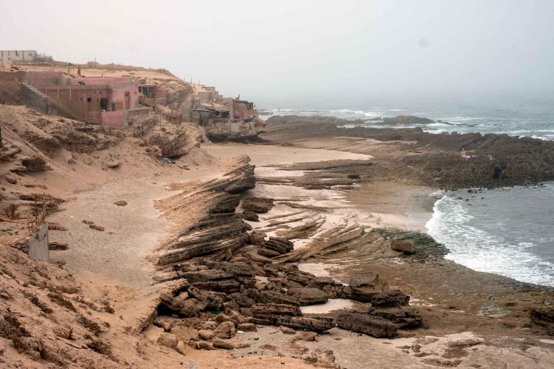 Les environs de l'hôtel et la côte sud du Maroc sur l'Atlantique © Jean-François Guggenheim