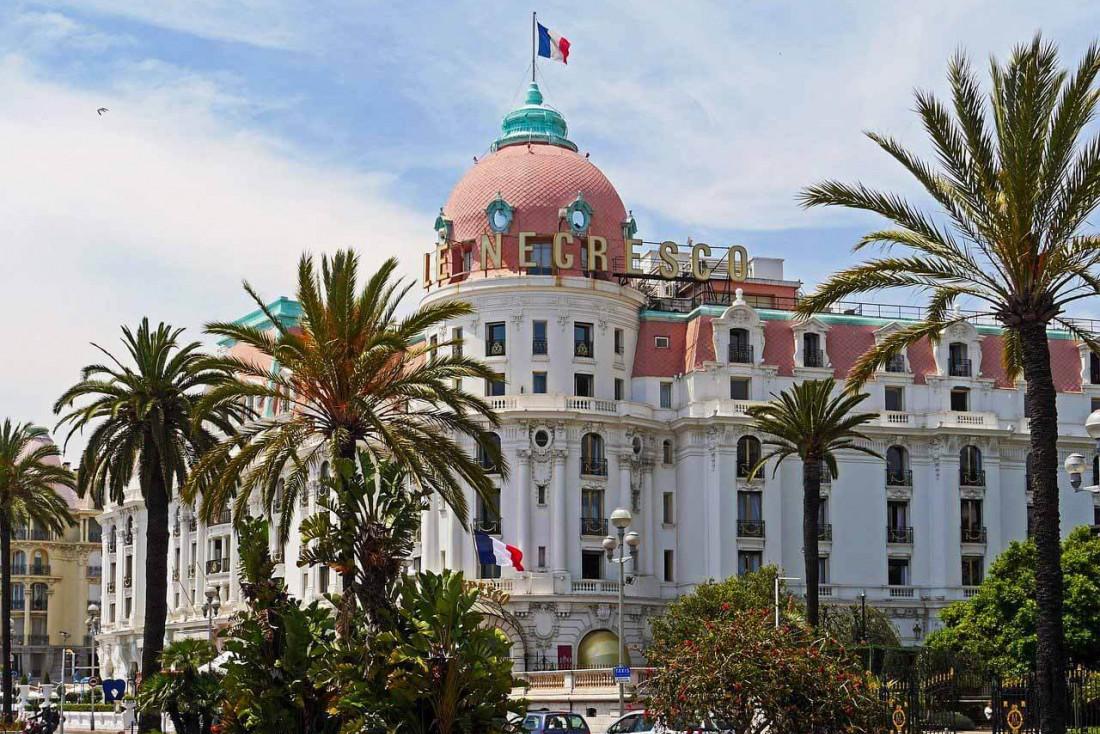 Le légendaire Negresco de Nice sur la promenade des anglais © DR