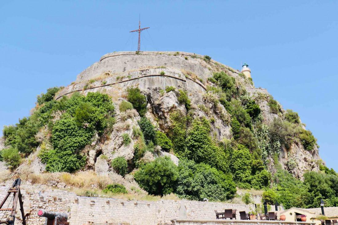 La vieille forteresse qui domaine la ville de Corfou © Pierre Gautrand