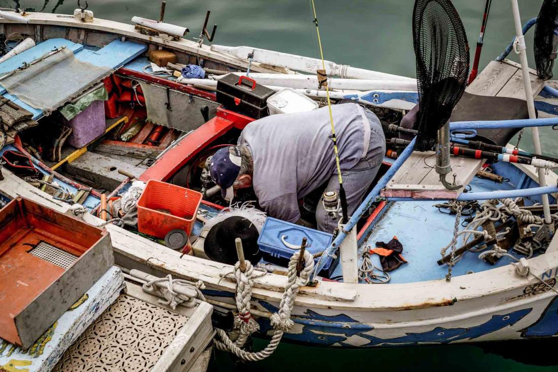 Les pointus dans le port de Nice, une institution qui n'est pas prête de disparaître © Robert V. Ruggiero