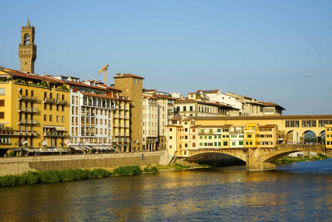Le Portrait Firenze est situé sur les rives de l'Arno, à deux pas du célèbre Ponte Vecchio © MB YONDER.fr