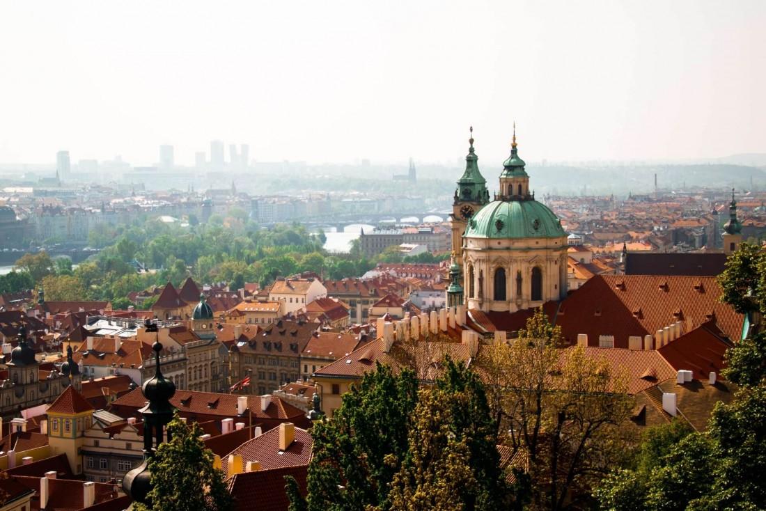 La ville de Prague depuis le Château © Polina Podlesnaya