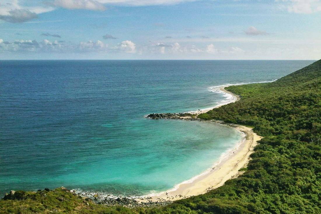 La plage sauvage de Wilderness à Saint-Martin © DR