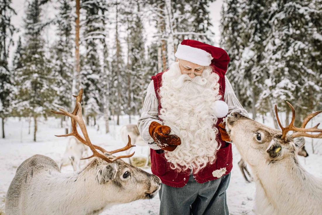 C'est bien connu, le « vrai » Père Noël habite en Laponie finlandaise © Santa Claud Foundation