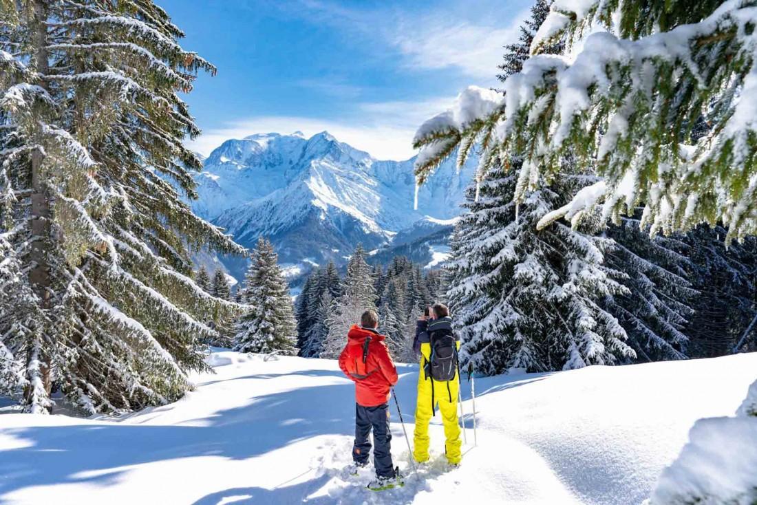 Saint-Gervais Mont-Blanc : ici, le panorama est fortement instagrammable © Boris Molinier