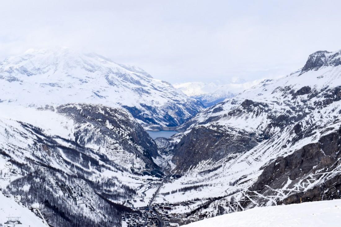 Vue spectaculaire sur la vallée depuis les hauteurs de Solaise © YONDER.fr