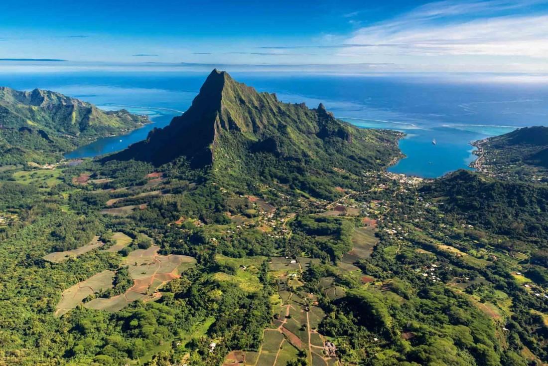 L'île de Moorea dans l'archipel de la Société, petite-sœur de Tahiti © Stéphane Mailion Photography