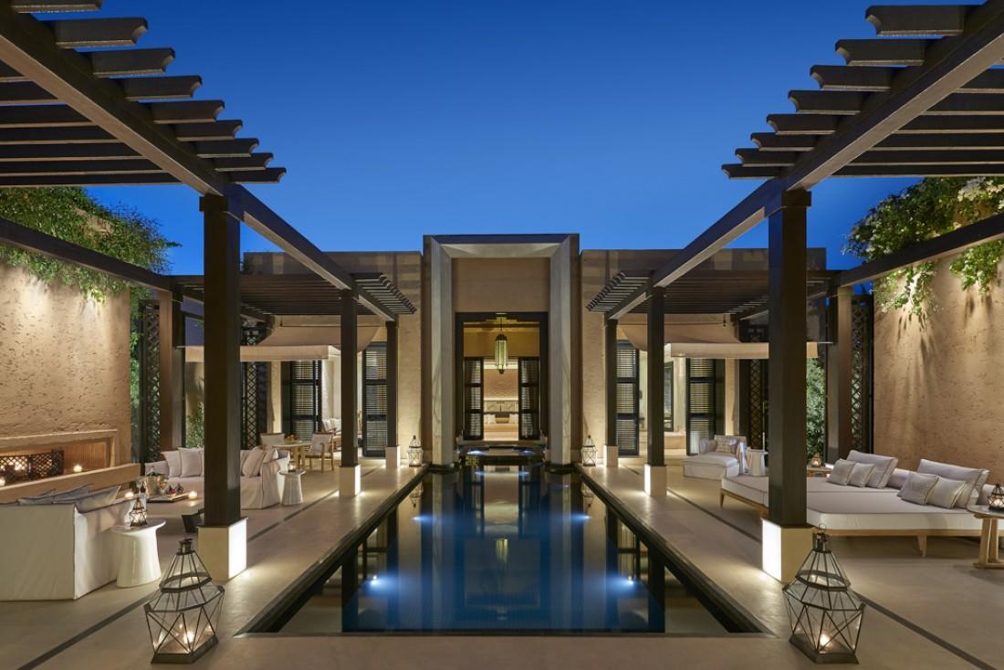 Mandarin Oriental frappe fort en s'installant à Marrakech en dévoilant un resort de très grand luxe. © Mandarin Oriental