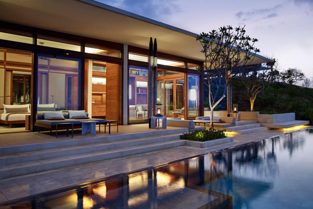 L'une des treize casitas avec piscine de l'Amanera, le nouveau resort exclusif d'Aman en République Domicaine © Aman