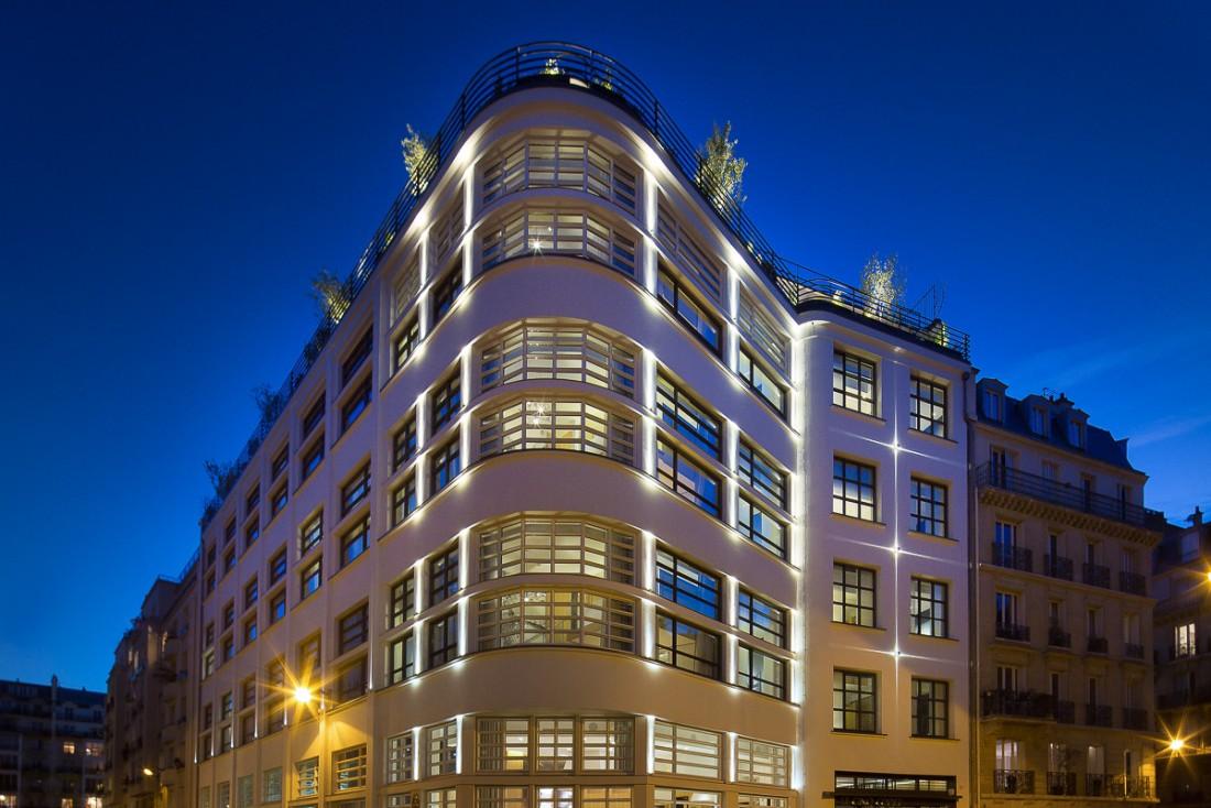 L'architecture originelle des années 30 du bâtiment a été respectée | © Le Cinq Codet