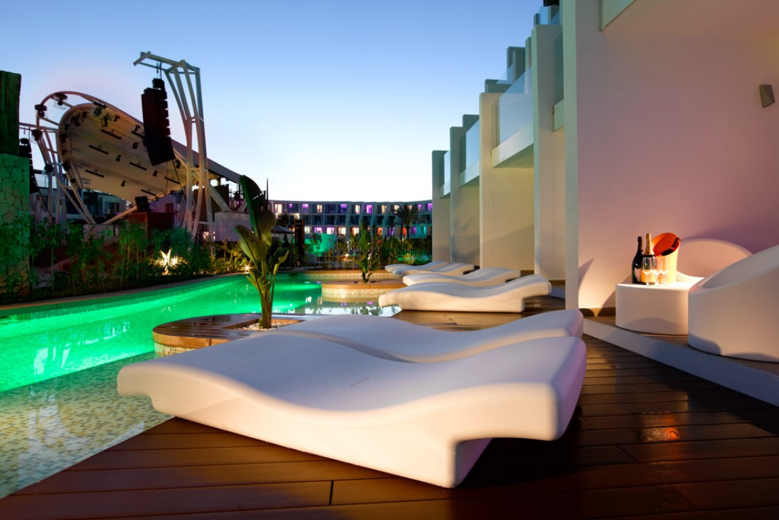 Terrasse des chambres Swim-up | © Hard Rock International