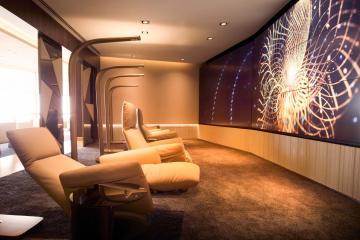 First Class Lounge & Spa à Abu Dhabi (Terminal 3) - Espace de relaxation © Etihad