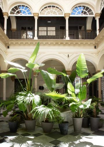 Le patio © Palacio de Villapanés