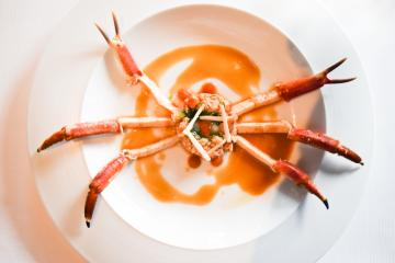 """Araignée de mer """"en situation"""" : étape 3, prête à être dégustée © Yonder.fr"""