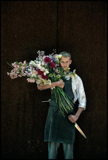 Le jeune chef Davy De Pourcq du restaurant Volta à Gand, l'un des Flanders Kitchen Rebels © Michaël Dehaspe