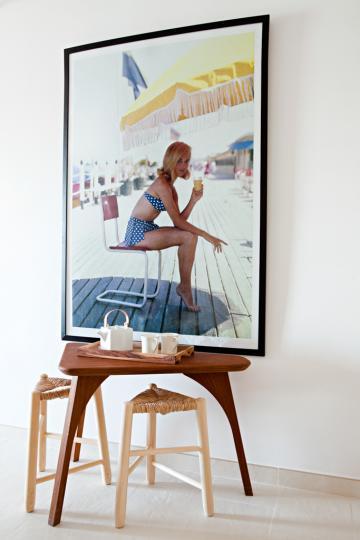 """Hommage aux """"sixties"""" et """"seventies"""" sur les murs © Yann Deret"""
