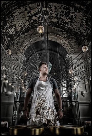 Nick Bril, qui fut le second de Sergio Herman pendant des années, est désormais le chef éxécutif de The Jane © Michaël Dehaspe