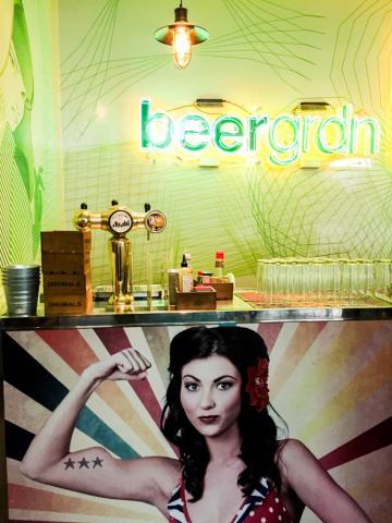 Le comptoir du Beergrdn © Yonder.fr