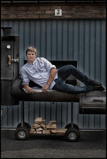 À Bruges, Tim Boury, chef du restaurant portant son nom, est considéré comme l'un des jeunes chefs les plus talentueux © Michaël Dehaspe