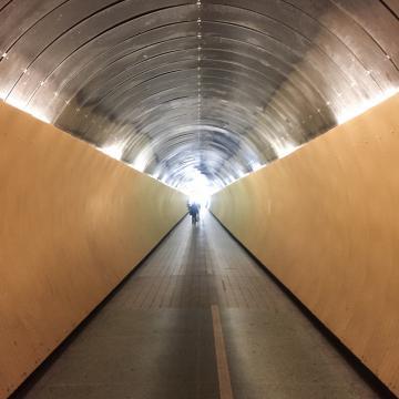 Tunnel dans le centre de Stockholm © Yonder.fr