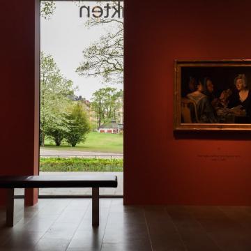 A l'intérieur du confidentiel musée Sven-Harrys Konstmuseum © Yonder.fr