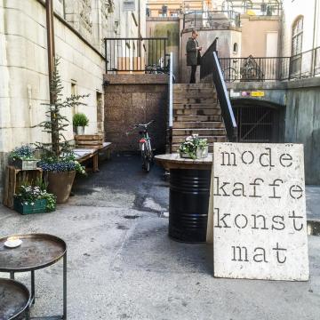 Snickarbacken 7, moitié concept-store, moitié café : adresse cool incontournable © Yonder.fr