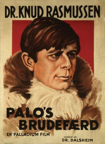 """L'affiche du film Palo's Brudefærd (""""Le mariage de Palo"""") sorti en 1934."""