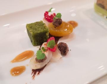 Les desserts du Sommet sont à la hauteur du reste du dîner et méritent amplement leur étoile | © Yonder.fr