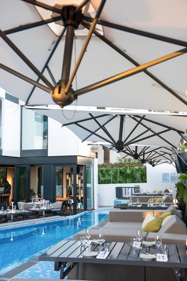 Sir Joan Hotel Ibiza - La piscine de l'hôtel © Amit Geron