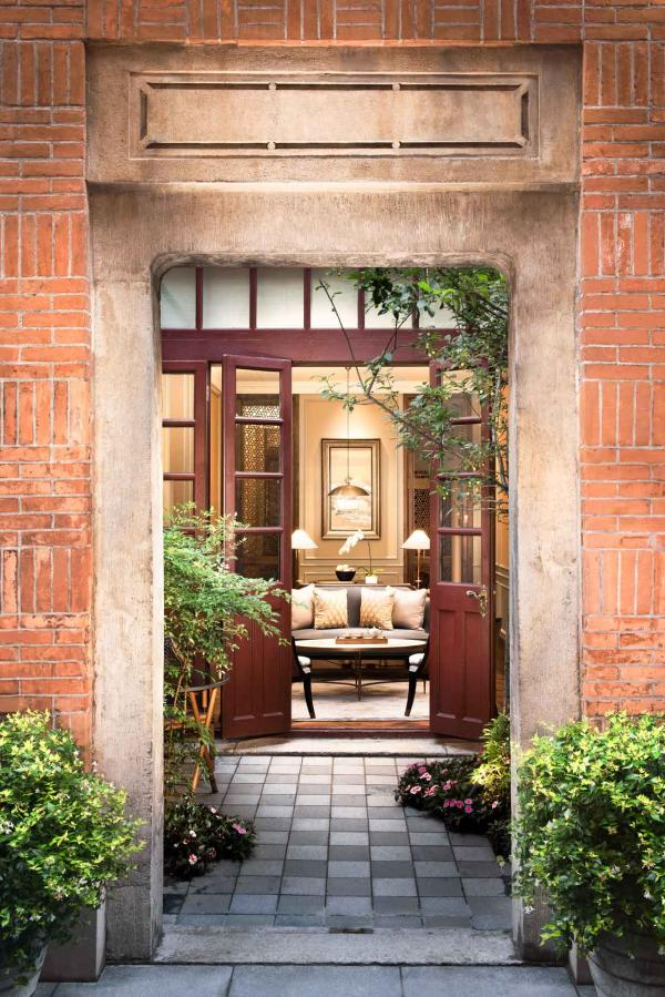 Capella Shanghai Jian Ye Li - Entrée d'une villa