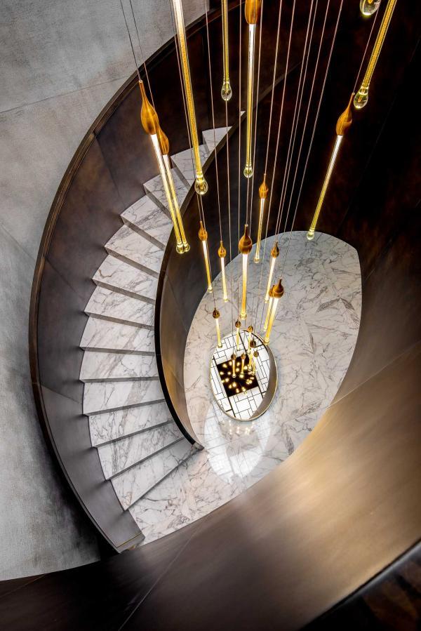 Suite Princesse Grace (Hôtel de Paris Monte-Carlo) - Escalier