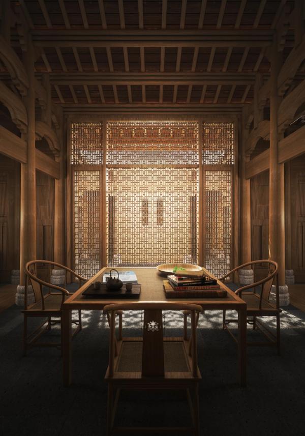 Amanyangyun - Le salon d'une Antique Villa