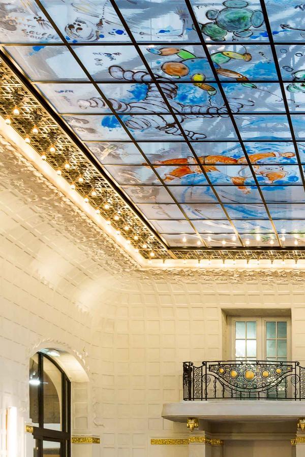 Hotel Lutetia - Salon Saint-Germain - Détails © Mathieu Fiol