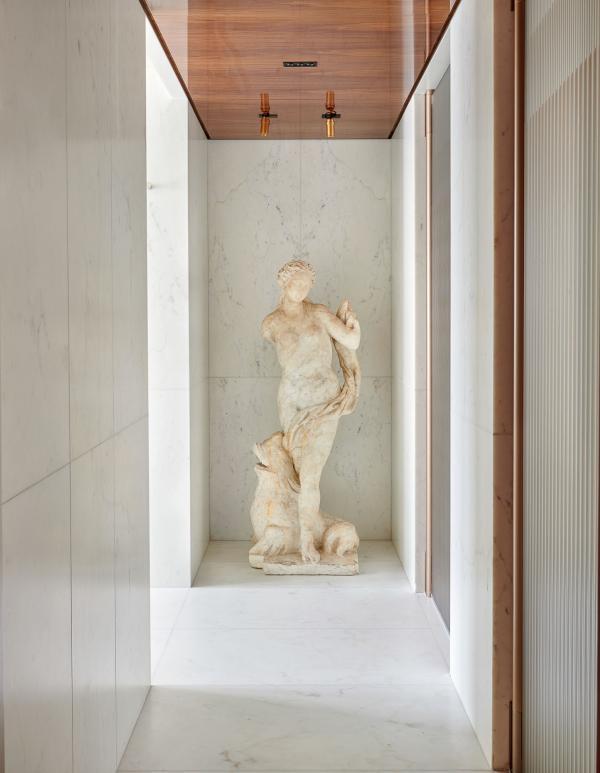 Hôtel Lutetia - Suite Présidentielle Carré Rive Gauche - Salle de bain © DR