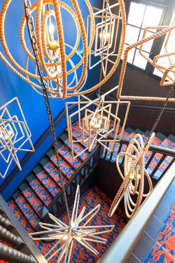 La Guitoune - Escalier