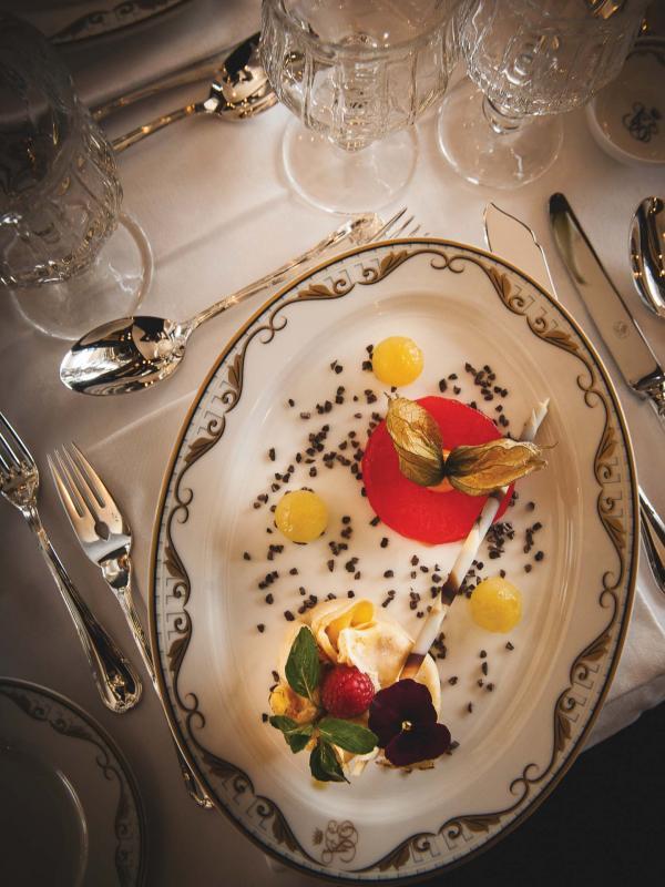 Venice Simplon-Orient-Express - Gastronomie à bord